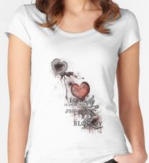 Love Is... 1 Women's Fitted Scoop T-Shirt