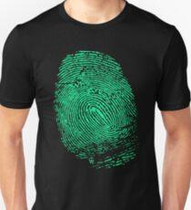 Fingerprint green T-Shirt