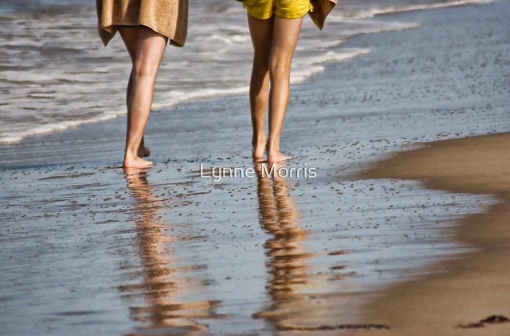 The Beach Walkers by Lynne Morris