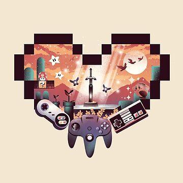 Gaming-Liebe von dandingeroz
