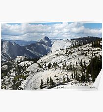Half Dome in Yosemite National Park from Olmsted Point Poster