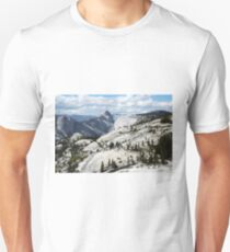 Half Dome in Yosemite National Park from Olmsted Point Unisex T-Shirt