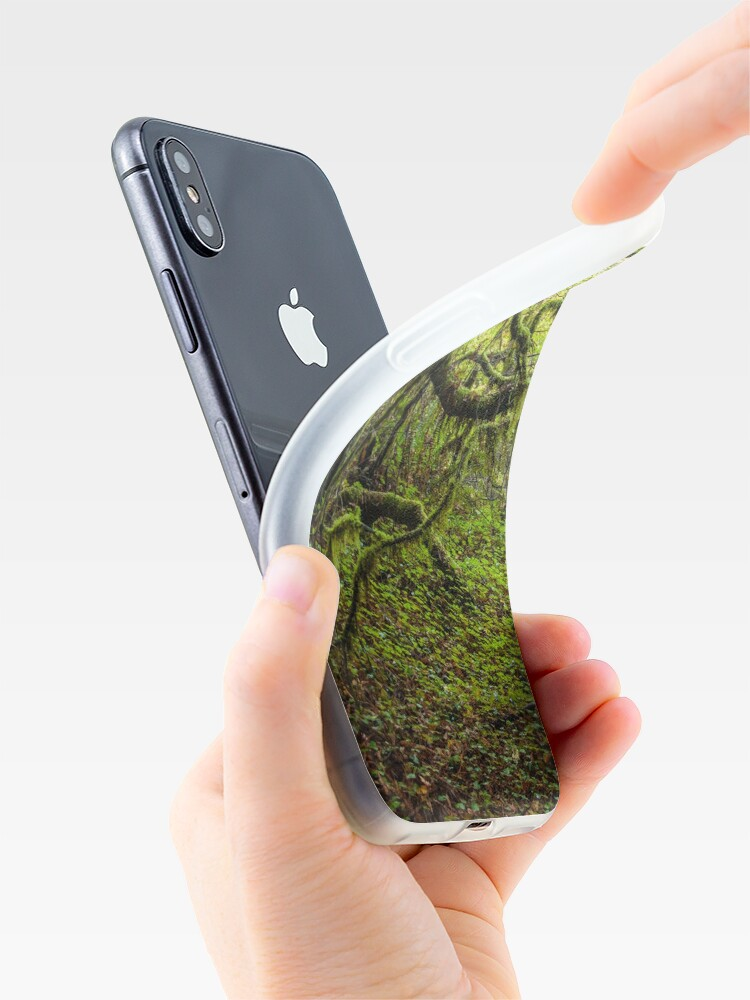 Alternate view of Mossy Forest iPhone Case & Cover