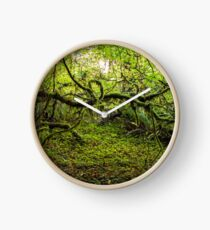 Mossy Forest Clock