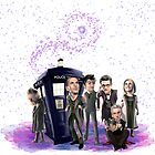 Doctor Who: Cartoon by jephwho