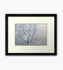 An Impression of Snow Framed Print