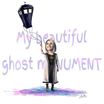 My Beautiful Ghost Monument by jephwho