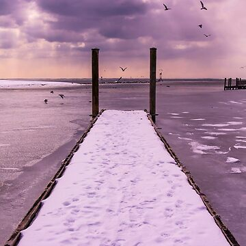 Winter Dock by codyjoseph