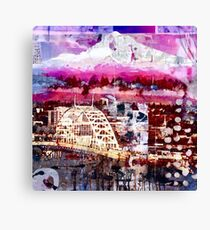 Fremont Bridge Canvas Print
