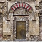 Tradesmen's Entrance? Back door to the Mezquita in Cordoba, Spain by TonyCrehan