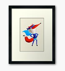 Super Fox Framed Print