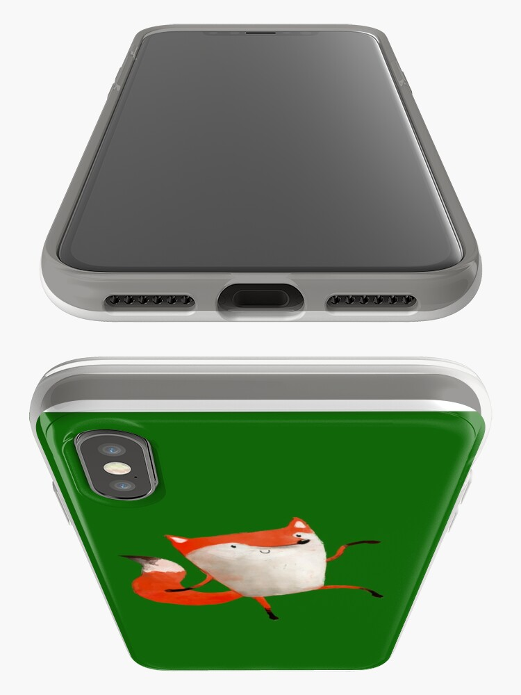 Alternate view of Happy Dancing Fox iPhone Case & Cover