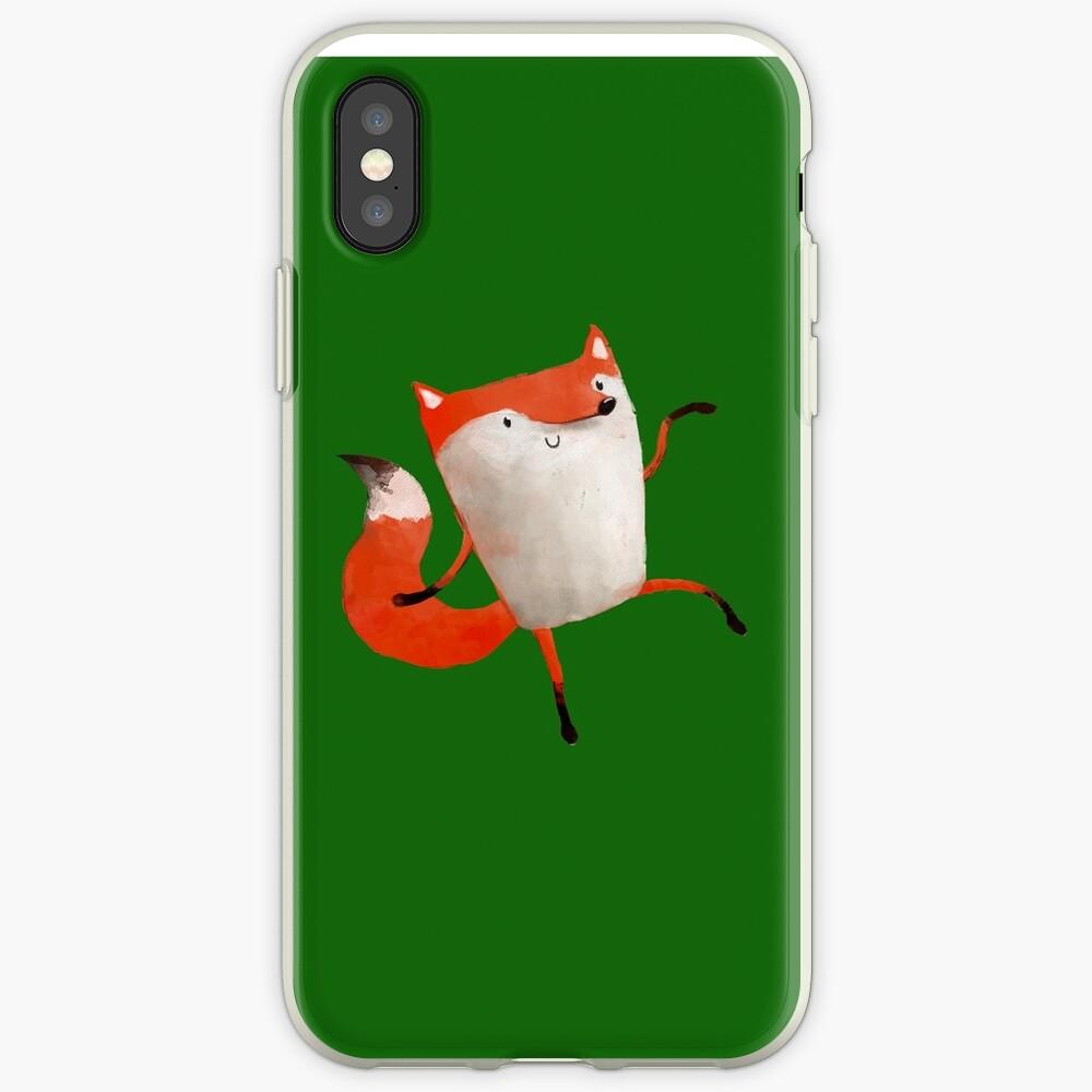 Happy Dancing Fox iPhone Case & Cover