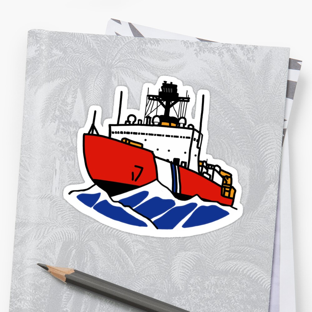 USCG Polar Icebreaker Sticker