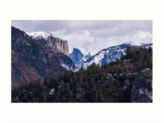 Yosemite Winter by codyjoseph