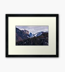 Yosemite Winter Framed Print