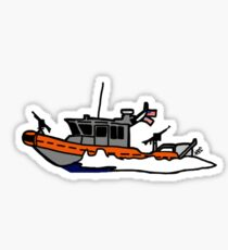 USCG Defender Class Response Boat Sticker