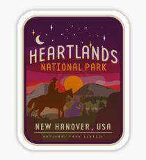 Red Dead Redemption 2 - Heartlands National Park  Sticker