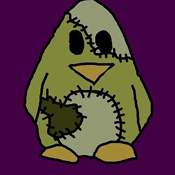 Frankenstein's Penguin by molliekbarbe