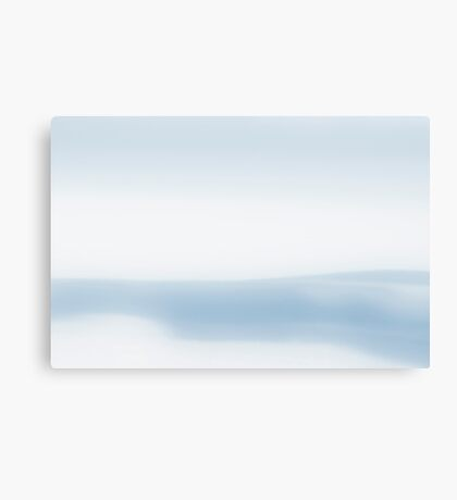 A Chance of Snow Canvas Print