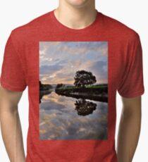 Clouds Above Tri-blend T-Shirt