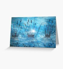 Reedy Reflections Greeting Card