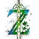 Zelda - Breath of the Wild Splatter (Lite) by Jonathon Summers
