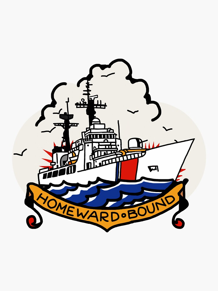 Coast Guard 378 Homeward Bound by AlwaysReadyCltv