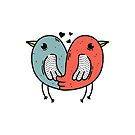 Birds of love by merupa