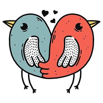Birds of love by merupa