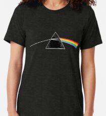 Pink Floyd Dark Side of the Moon - Cloud Background Tri-blend T-Shirt