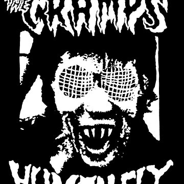 The Cramps Human Fly Shirt & Sticker by RatRock