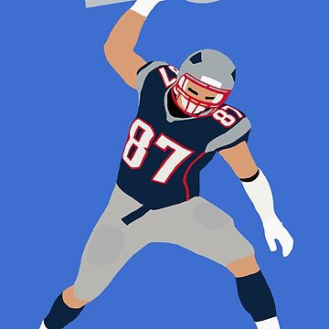Gronk Spike The Lombardi Trophy by RatTrapTees