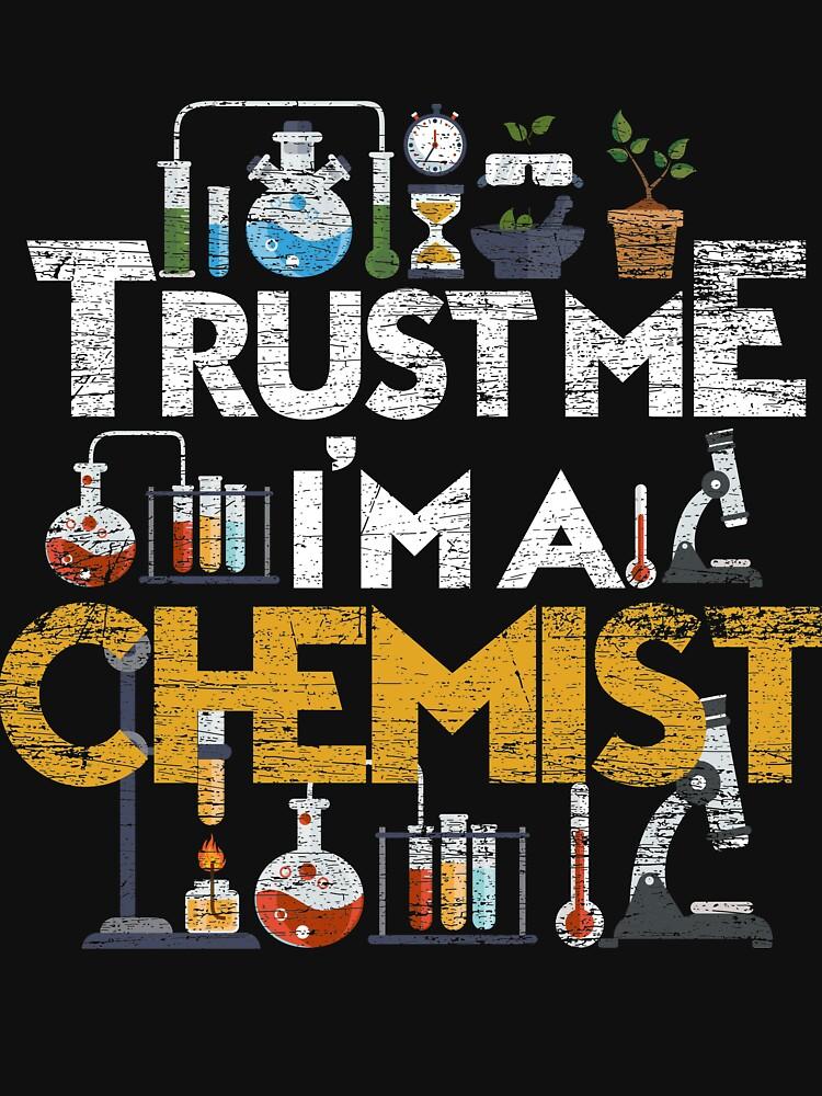 Chemistry Chemist by GeschenkIdee