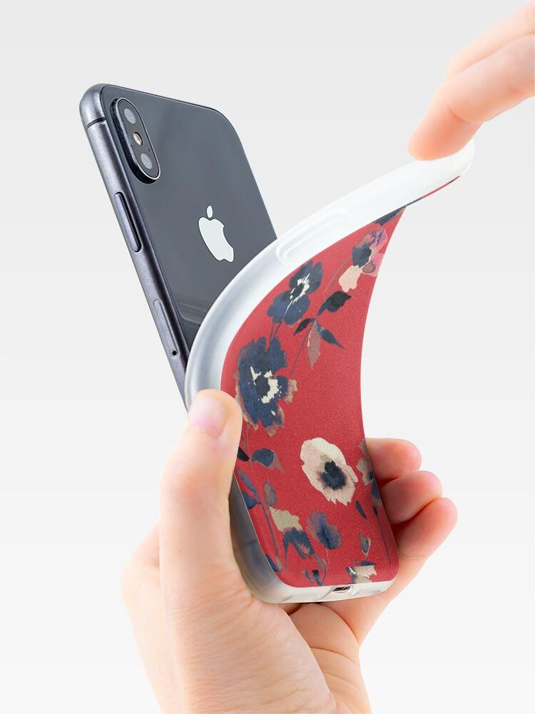 Alternative Ansicht von Ikebana Blumenmuster - Iphone & Galaxy Cases iPhone-Hülle & Cover