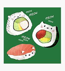 Cute Sushi Rolls Fotodruck