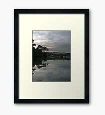 MIRRORLAND 2 Framed Print