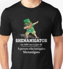 Shenanigator-Definition-lustiges irisches T-Shirt Unisex T-Shirt