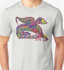 Polychromous Dragon Unisex T-Shirt