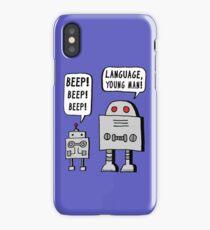 Beeping Robot iPhone Case/Skin