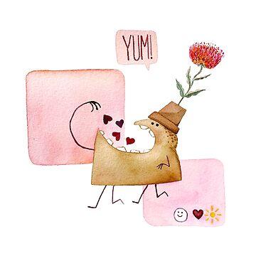 Underbite Valentine by PoofyEmporium