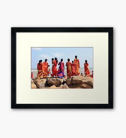 At Poompuhar, Tamil Nadu Framed Print