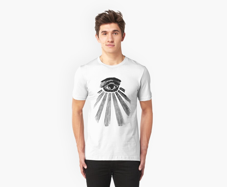 The all seeing eye by symbols