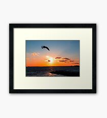 Relaxation Therapy Framed Print