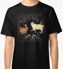 Rabbit vs Sheep Classic T-Shirt
