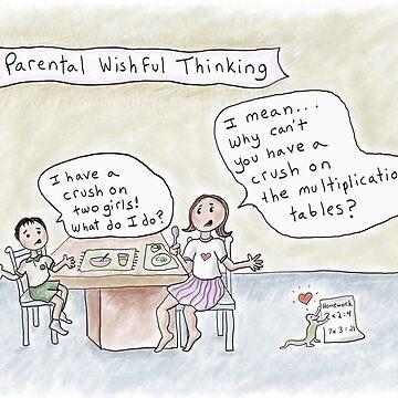 Parental Wishful Thinking -Crush on Math by kpalana