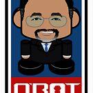 Ben Carson Politico'bot Toy Robot 2.0 by Carbon-Fibre Media