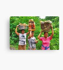 People of Bali 2 Canvas Print