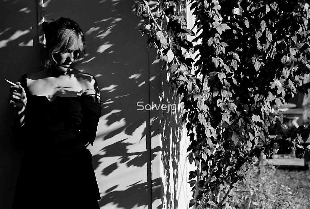 leaf shadow # 7 by Solvejg