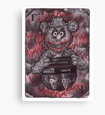 Fozzie Bear Joker Canvas Print